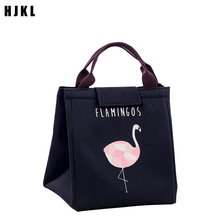 HJKL Portable Thermal Lunch Bag Box Outdoor Picnic Cartoon  Oxford Cloth Cold Storage Travel Fo