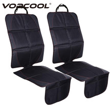 Vorcool 123x48cm Car Seat Cover SetsLeather Oxford Mats For Child Baby Anti Slip Front Back Seat Protector With Bag Organizer(China)