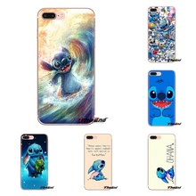 Para o iPod Touch Da Apple iPhone 4 4S 5 5S SE 5C 6 6 S 7 8 X XR XS Mais MAX Caso Saco Do Telefone de Silicone Lilo e Stitch Ohana sweety FAMIL(China)