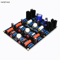 IWISTAO Moving Magnetic Tube Phono Stage Finished Board M7 12AX7 No including Tubes Transformer