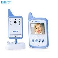 2 4GHz Wireless Digital Audio Baby Monitor LCD Nightvision Infant Nanny Safety Babysitting Kids Monitoring 2