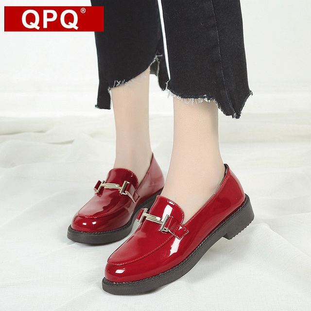 Chaussures automne à lacets rouges unisexe mef1cDl4
