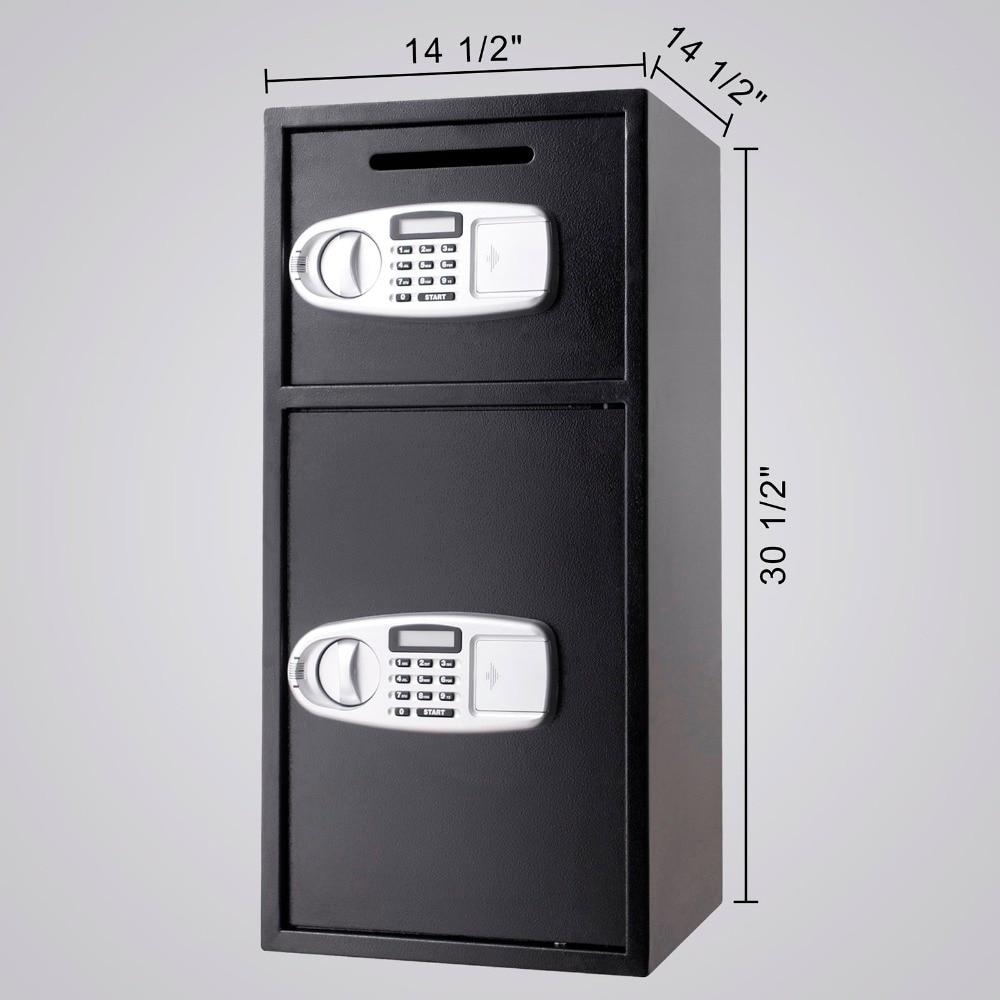 VEVOR Security Safe Box Double Door Digital Safe