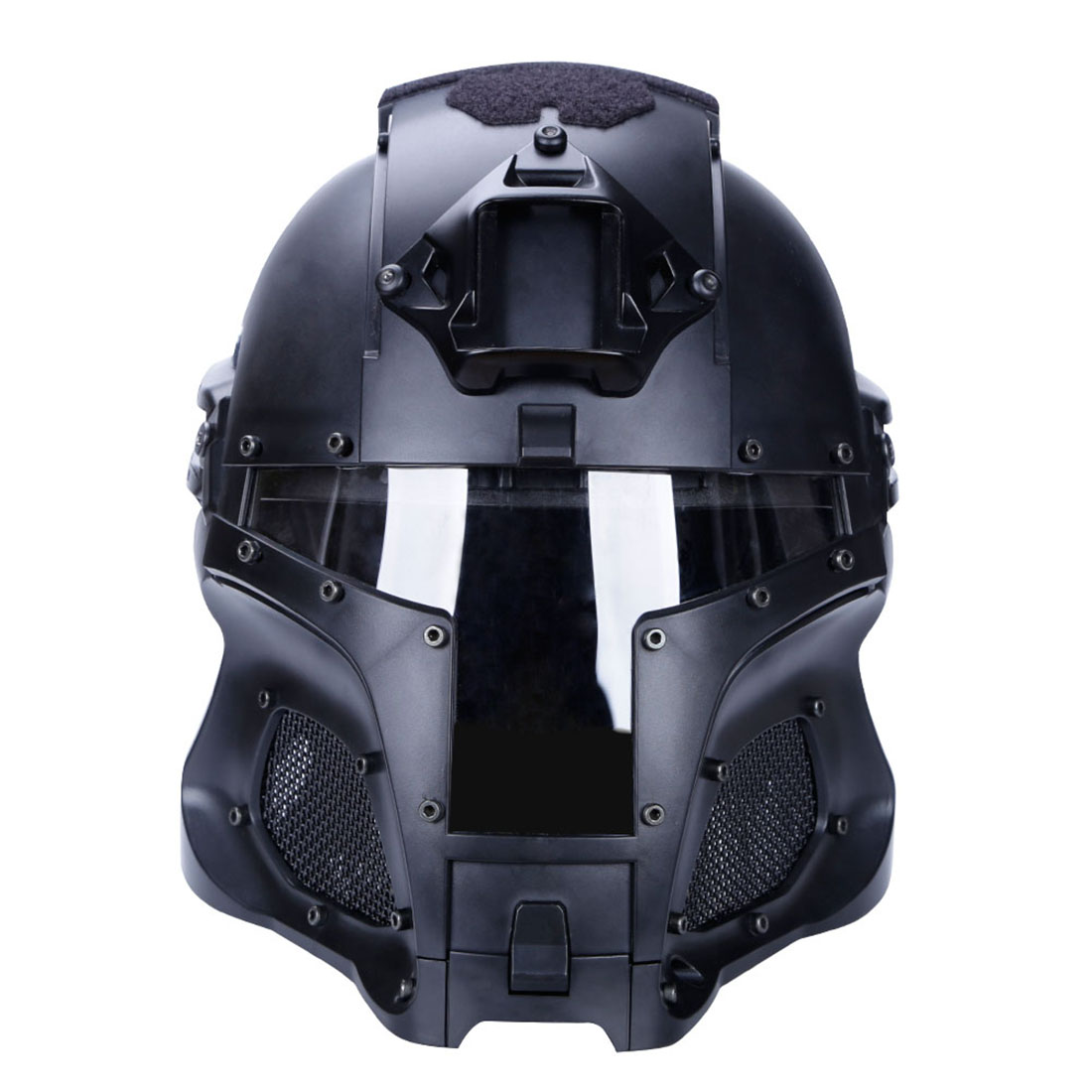 WST Casque Airsoft Paintball FC Game Masque Tactique de protection extérieur