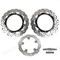 Для Bmw R1200GS ADVENTURE 2013 2014 передний задний тормозной диск комплект ротора мотоцикла R 1200 GS R1200 1200GS 13 14 CNC алюминий