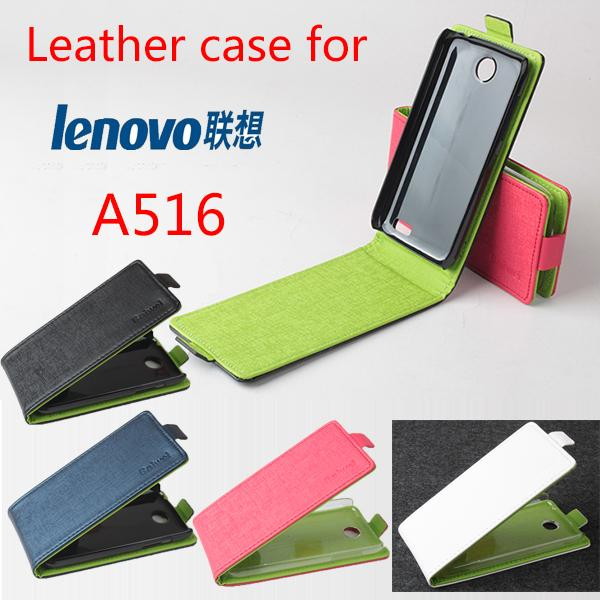High Quality Pattern Leather flip Case Lenovo A516 Leather C