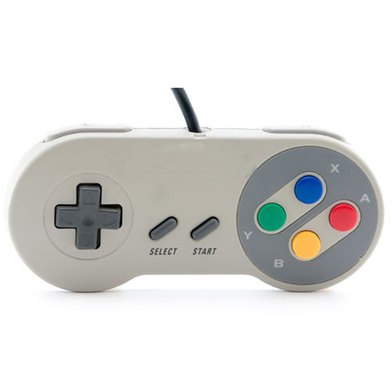 HOMEREALLY Gamepads Wired USB gamepad Gaming joypad pc for SNES Style For PC Window 7 8 XP joypad wireless For Mac Controllers