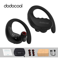 dodocool Wireless Headsets Stereo Sports In Ear Bluetooth Earphone Headphones with Mic Support Multipoint Connection Siri Voice