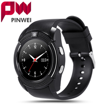 PINWEI Sport Watch Full Screen Smart Watch For Android Match Smartphone Support TF SIM Card Bluetooth