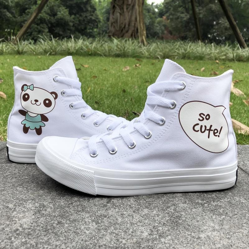 Wen Design Cartoon Panda So Cute White