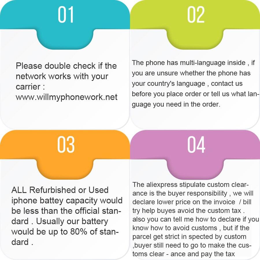 Image 5 - Разблокированный мобильный телефон Apple iPhone 7 4G LTE 32/128 GB/256 GB IOS 12.0MP камера четырехъядерный отпечаток пальца 12MP 1960mA-in Мобильные телефоны from Мобильные телефоны и телекоммуникации
