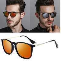 Vintage lunettes De soleil polarisées en métal femmes hommes rétro conduite miroir lunettes De soleil unisexe lunettes nuances Oculos De Sol UV400