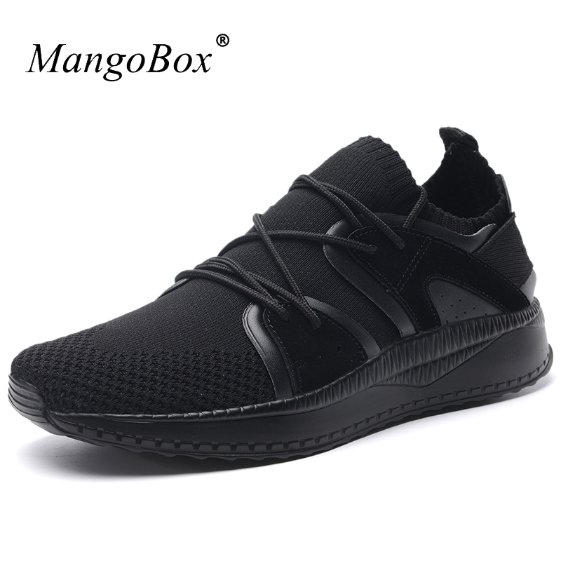 Summer Man Sneakers Sports Shoes Lace Up Running Shoes Anti-slip Walking Trainers Comfortable Designer Sneakers Male