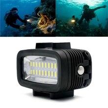 40m 130ft Waterproof 20 LED Super Bright Video LED Light Action Camera Diving Lamp Suitable For GOPRO Black