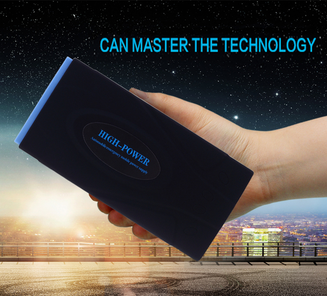 High-Power 16000mAh Car Jump Starter For 12 Gasoline And Diesel Vehicles Mobile Phone Power Bank Dual-USB With Dual-USB