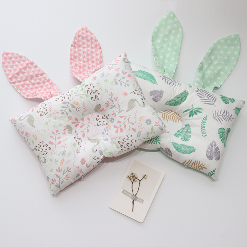 Anti Flat Head Baby Pillow For Newborns Baby Room Decoration Nordic Kids Nursing Pillow Soft Infant Cushion Bedding Accessory