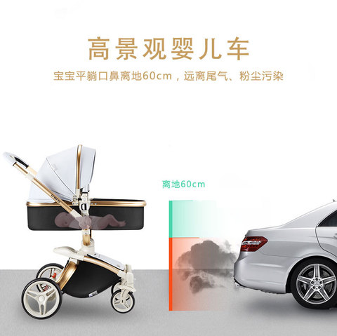 carrinho de bebe two way four wheel bebe amortecedor strolle