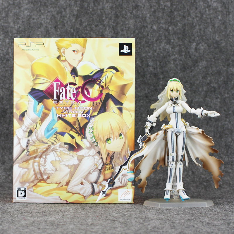 15cm Figma Fate PVC Figures Brinquedos Fate Stay Night Saber Lily the Sword of Victory Collection Toys Model Doll 23cm sexy fate stay night action figures pvc brinquedos collection figures toys for christmas gift free shipping