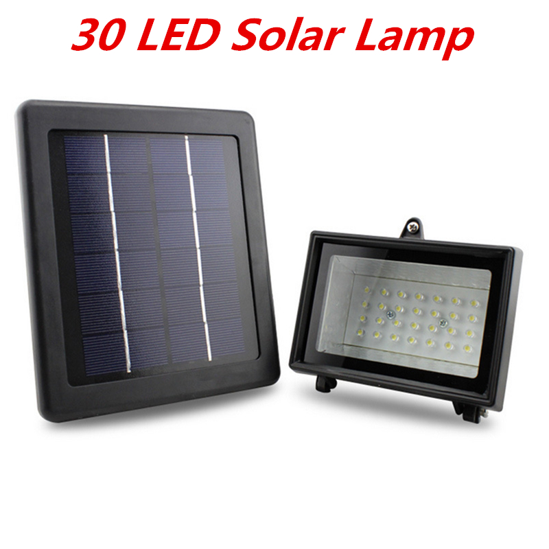 Energy Saving Solar Lamp Solar Power Panel 30 LED Solar Light Outdoor Sport Yard Sidewalk Fence Path Pool Pond Lawn Garden Lamp