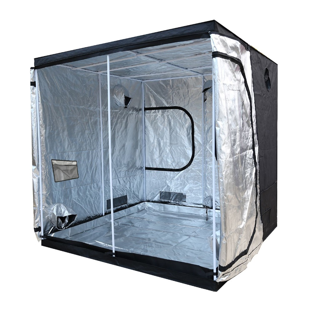Plant Tent 600D Grow Tent Indoor Grow Box 300*300*200 Hydroponic Grow Room Greenhouse Plant Lighting Tents