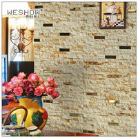 1BOX(10 pieces) Classic Style Natural Marble Stone mosaic tile anti dust Kitchen Backsplash Wall Tile for Living room bedroom