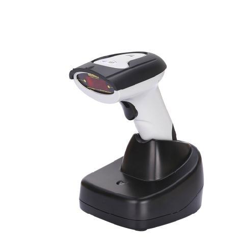 Lecteur détiquette sans fil de Scanner de code barres de Laser avec la Base de chargeur Scanner tenu dans la main de code barres pour le magasin de supermarché