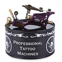 New Arrival Purple Motor Rotary Machine Gun Tattoo Body Art Alloy Liner Shader 3 10V 9000
