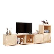 Cabinet Furniture Children Wood Lockers Juguetes Organizador Pine Estanterias Infantiles