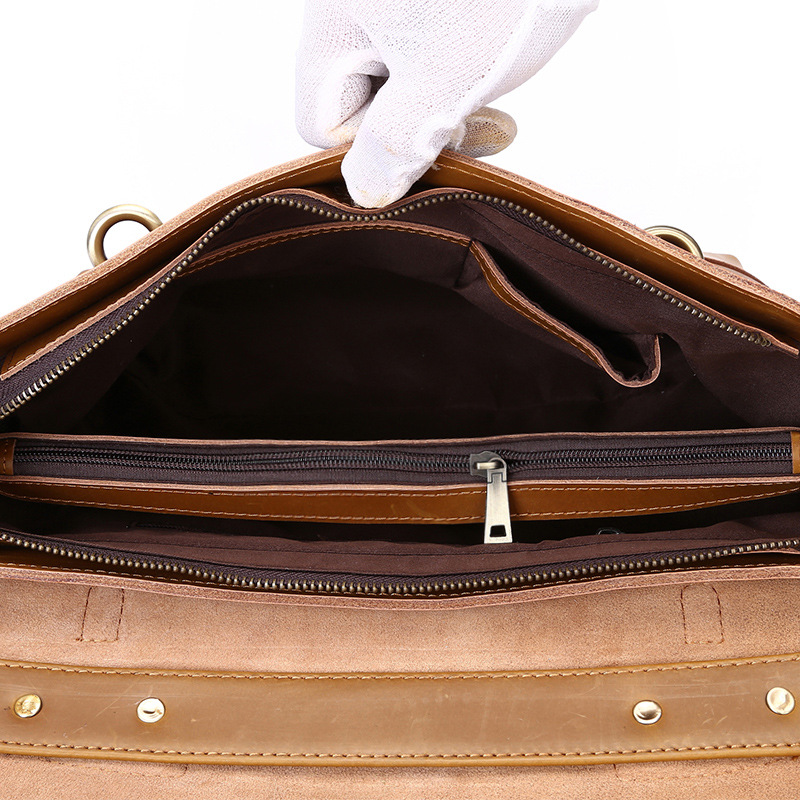 1 2 Schulter Taschen Geneigt Aktentasche Crazy Leder Handtasche Tasche Freizeit Horse Neue Bjyl Herren Großhandel Mann 6qTwwZ