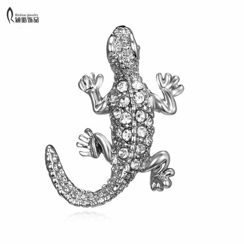 Fashion Burung Hantu Kristal Berlian Imitasi Bros Antik Bros Pin untuk Wanita Perhiasan Pengantin Pernikahan untuk Wanita