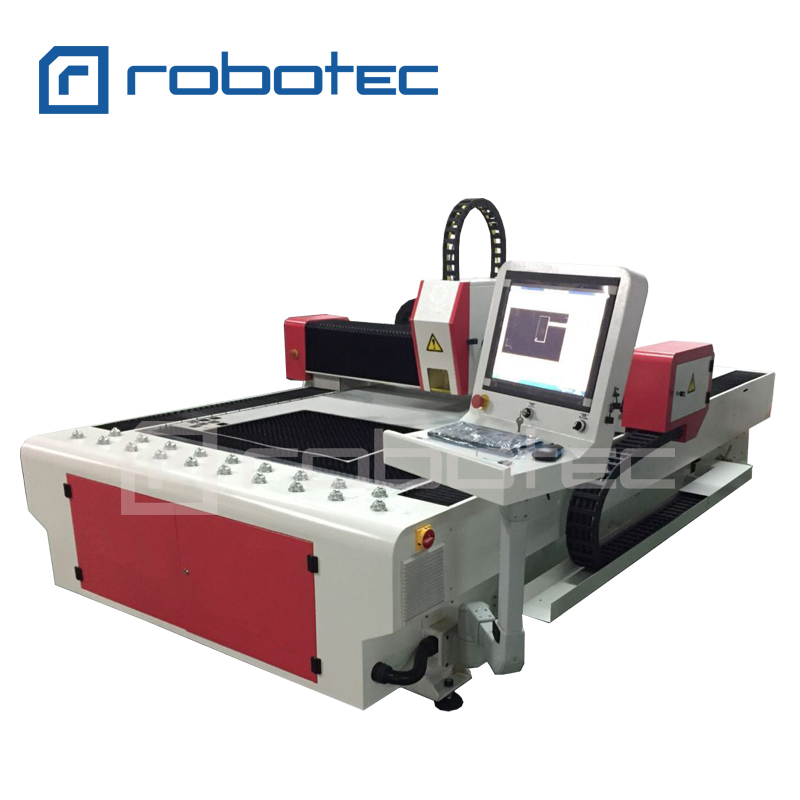 Robotec CNC Laser Cutting Machine IPG 500W 700W 1000W 1500W 2000W 3000W Fiber Laser Cutting Machine/ 1530 Fiber Laser Cutter