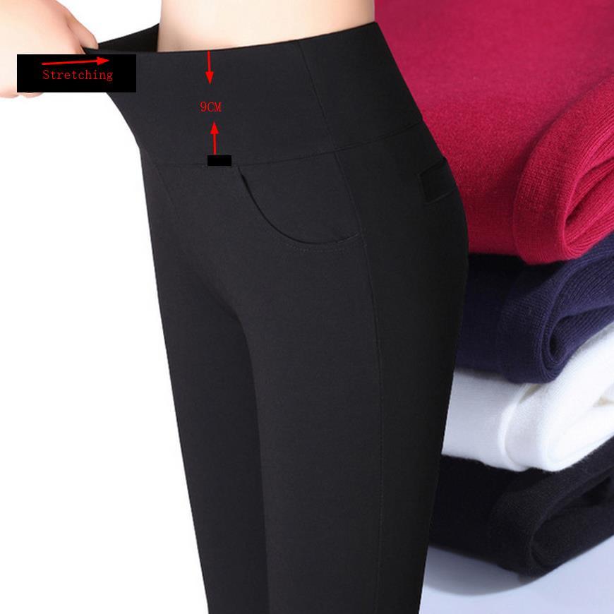 Hed! vinter Fortykning tyk fløjl Produkter Elastiske stretchbukser - Dametøj