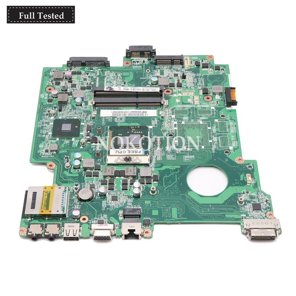 NOKOTION MBTW606001 MB.TW606.0 Main board For Acer Travelmate 8572 8572G Laptop Motherboard DA0ZR9MB8D1 HM55 DDR3 Free CPUNOKOTION MBTW606001 MB.TW606.0 Main board For Acer Travelmate 8572 8572G Laptop Motherboard DA0ZR9MB8D1 HM55 DDR3 Free CPU