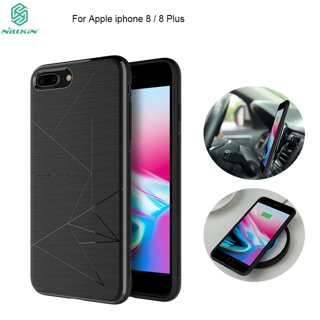 premium selection f5eb0 72c23 US $8.83 42% OFF|NILLKIN Magic Case For iphone 8 (4.7 inch) with Magnetic  Function Matte Phone Back Cover For iphone 8 plus 5.5 inch phone bags-in ...