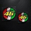 НЕТ. TL002 Бесплатная доставка Италия Флаг Дизайн 46 # Росси MOTO GP Отражающие Наклейки Наклейки Мотоцикл Гонки Наклейки для шлем