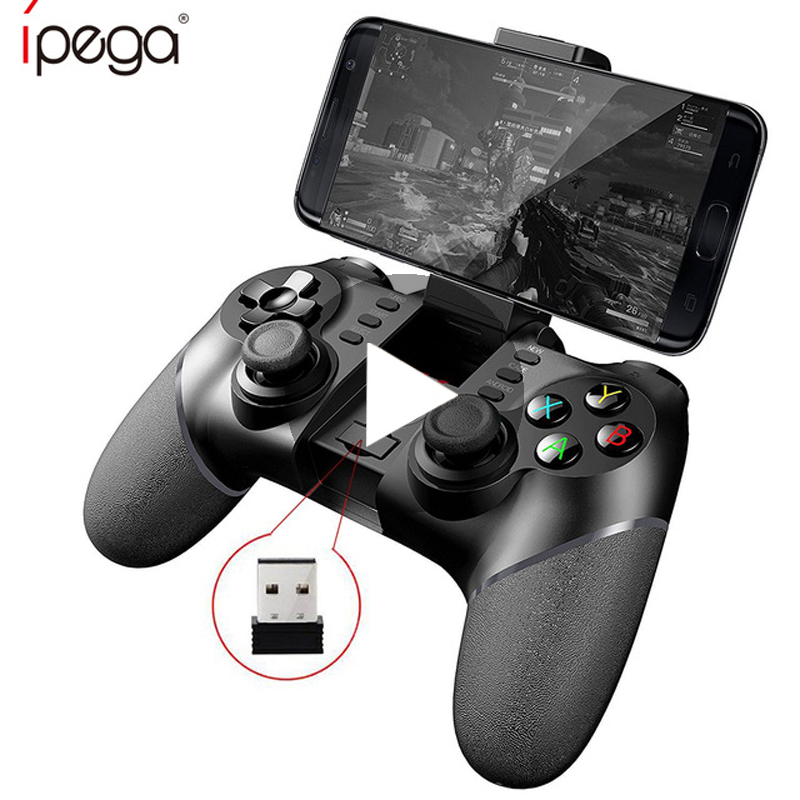 Bluetooth Gamepad Game Pad Pubg Mobile Dzhostik Joystick For Android Cell Phone Trigger Controller Smartphone Joy Stick Button image