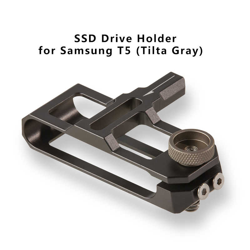 TILTA BMPCC 4K 6K Kandang TA-T01-B-G Taktis Selesai atau Abu-abu Penuh Kandang SSD Drive Pemegang Pegangan Atas untuk blackmagic BMPCC 4K 6K