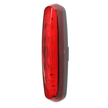 5 LED Flashlight Rear Tail Torch Back Light Lamp Red Bike Bicycle Cycling Accessories YS-BUY image