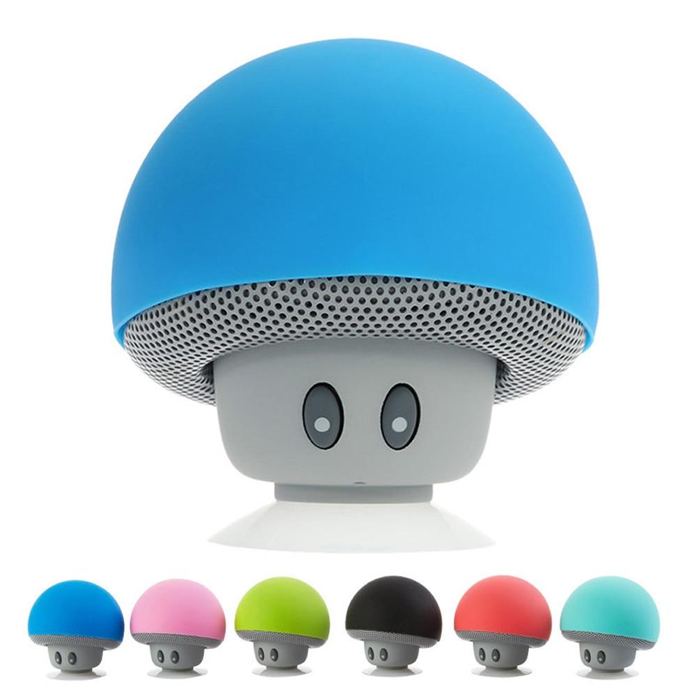 Mini Wireless Portable Bluetooth Speaker Mini Bluetooth Mushroom Speaker Mini Speaker For Mobile