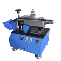 LED Lights Capacitance Shearing Equipments Single sided Shearing Machine Automatic Bulk Capacitance Shearing Machine
