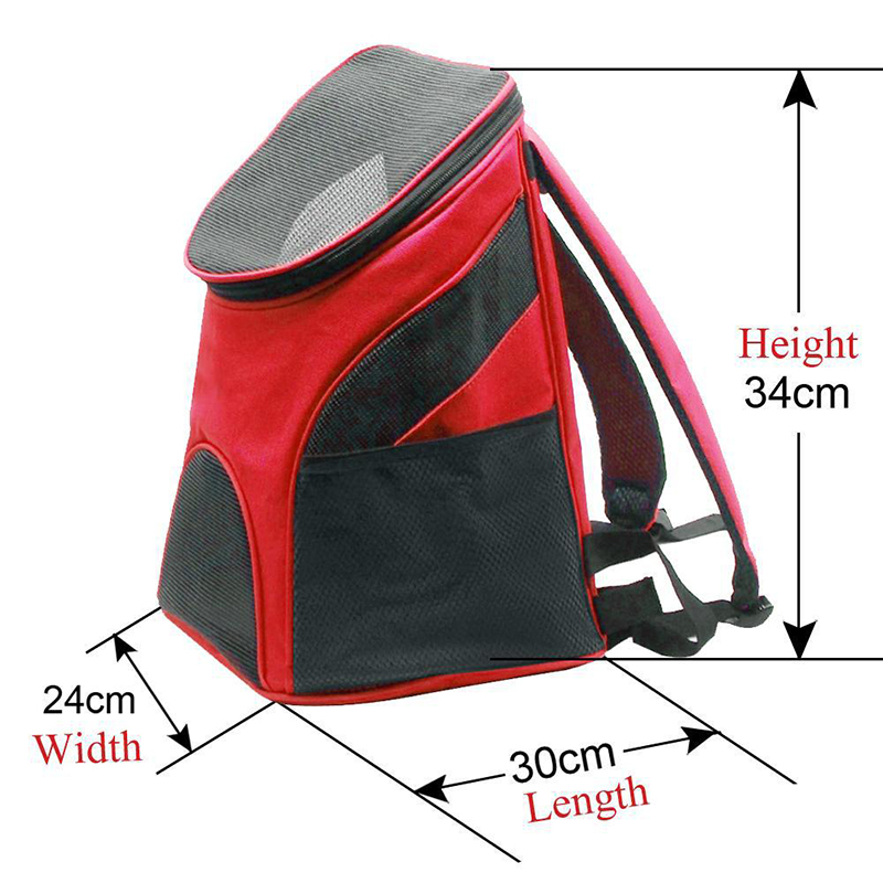 T MENG Pet Backpack Dog Bags Cat Carrier Pet Outdoor Bag Puppy Dog Portable Travel Bag Breathable Double Shoulder Bag For Dogs in Dog Carriers from Home Garden