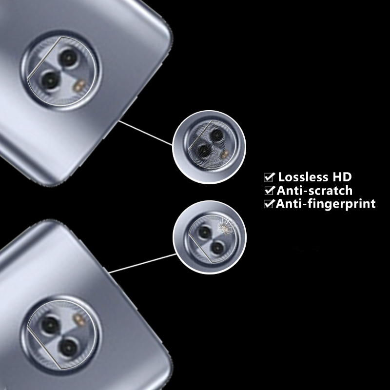 HD Clear Back Camera Lens Tempered Glass Film For Motorola MOTO X4 (4th gen.)Camera Protector Guard Filml Rear Camera Lens Film