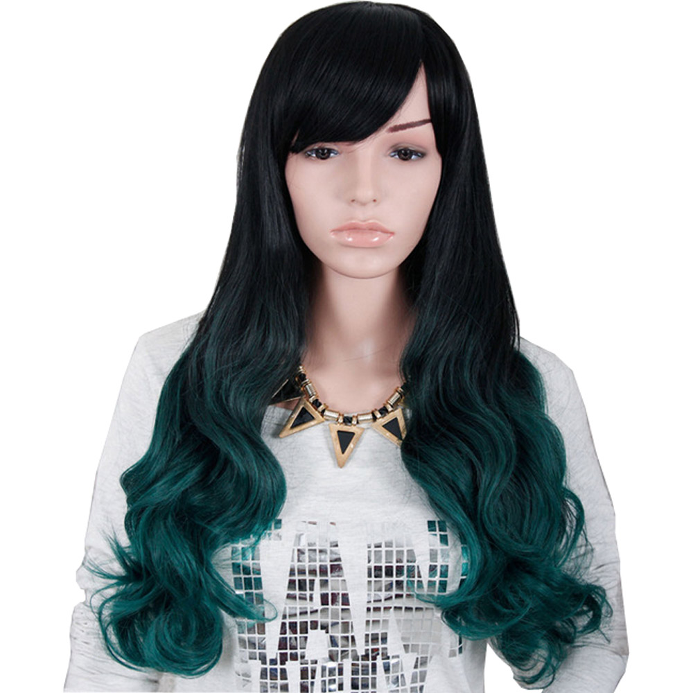 The Fashion Avant Courier Womenlady Body Wave Long Mixed Color