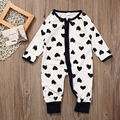 Newborn Kids Infant Baby Girls Soft Bodysuit Jumpsuit Clothes One Piece