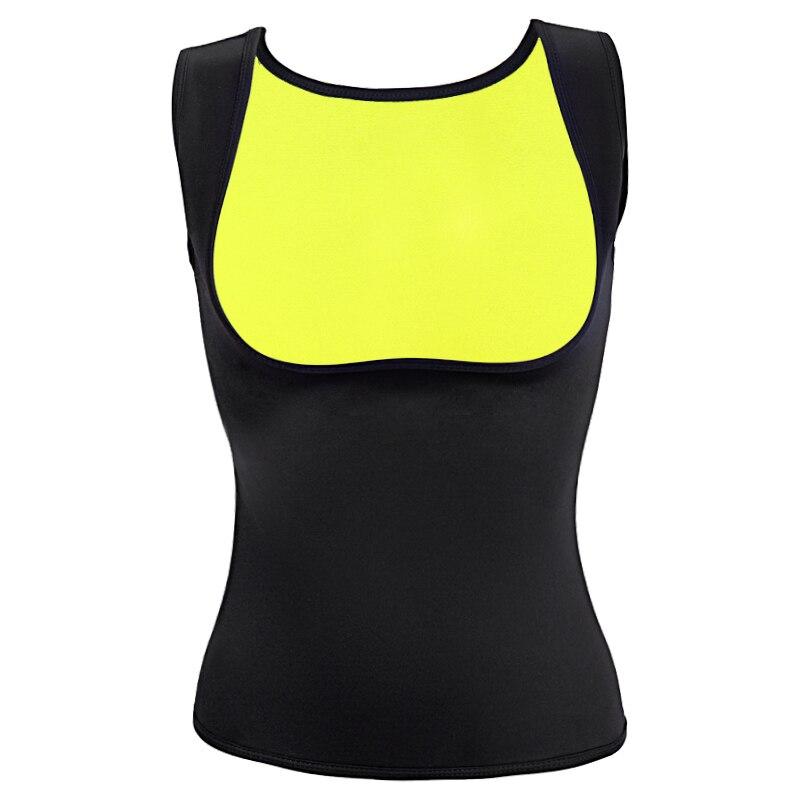 a6ef304e89c8d Women s Hot Shapers Hot Sweat Slimming Neoprene Shirt Belly Fat Burner Body  Shaper for Women Sauna Vest Weight Loss Black S-3XL
