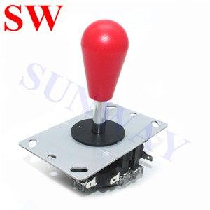 Image 4 - 2Pcs Sanwa joystick Oval ball top Arcade Sanwa joystick with microswitch 4/8 Way Joystick Fighting Stick Parts for Game Arcade