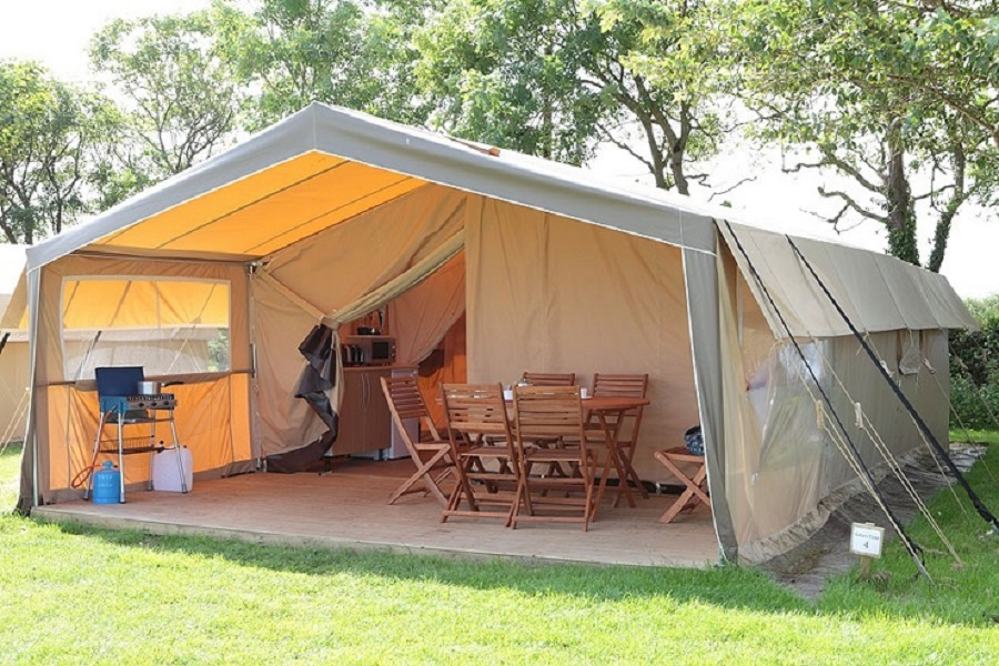 Zelt 6 9 M : Outdoor tourist canvas safari tent m glampling