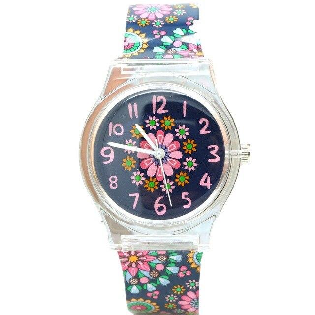 Willis Watch For Women Water Resistant Sports Wristwatch Fashion Flower Print Gi
