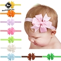 Norvin Bow Baby Headband 9pcs/lot Girl Hair Accessories For Hair Mix Color 7 Styles Baby Hair Band Baby Girl Headbands Wholesale