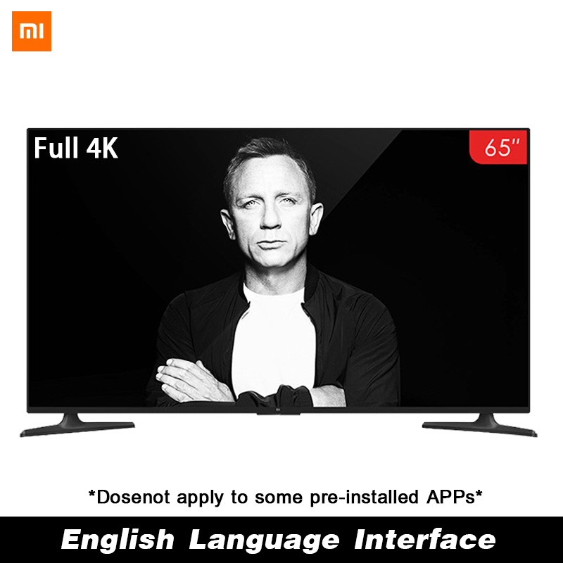Xiaomi Smart 4A 65 pouces 3840*2160 FHD Full 4 K HD écran TV ensemble HDMI WIFI Ultra-mince 2 GB Ram 8 GB Rom jeu affichage Dolby